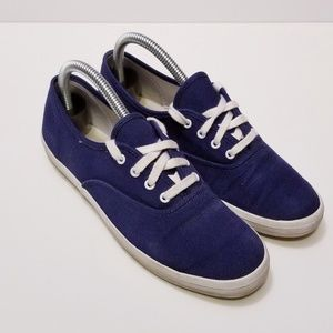 Blue Keds size 7.5 Slip On Shoes Sneakers